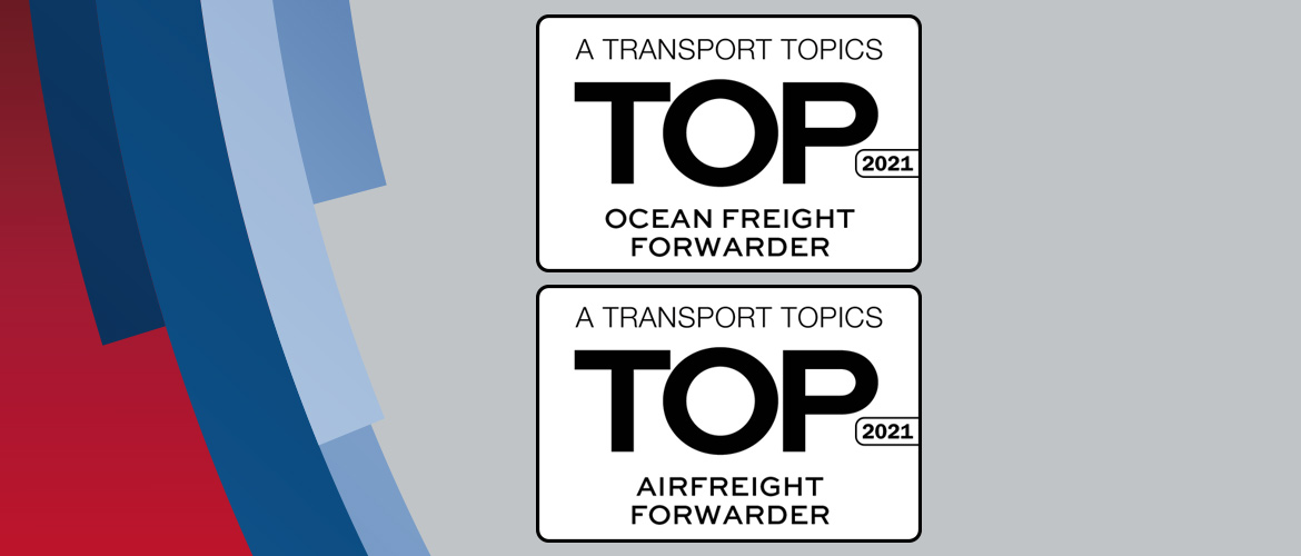 Noatum Logistics is in the Top 50 of Ocean and Air Freight Forwarders