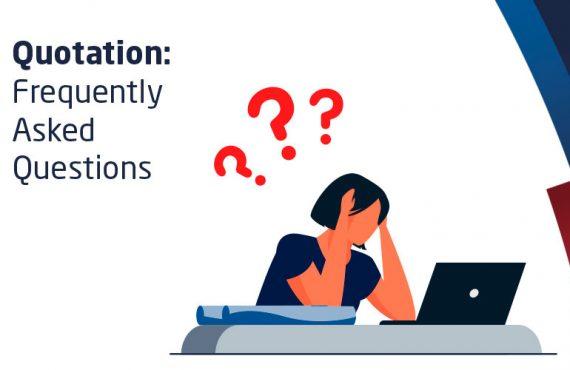 FAQs on Quotation