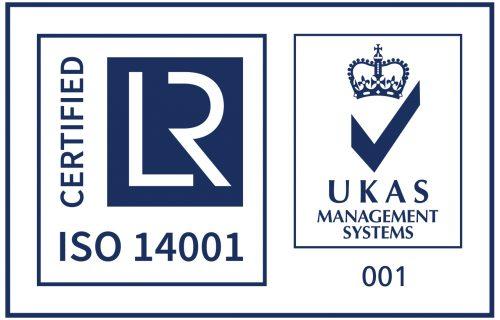ISO 14001 + UKAS