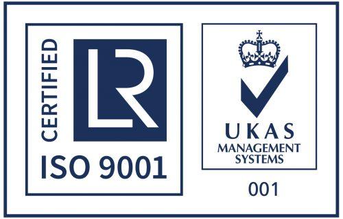 ISO 9001 + UKAS