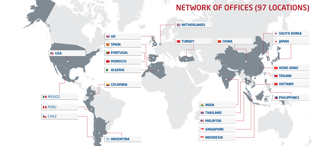 NL network offices 97 countries NL Indonesia september 19