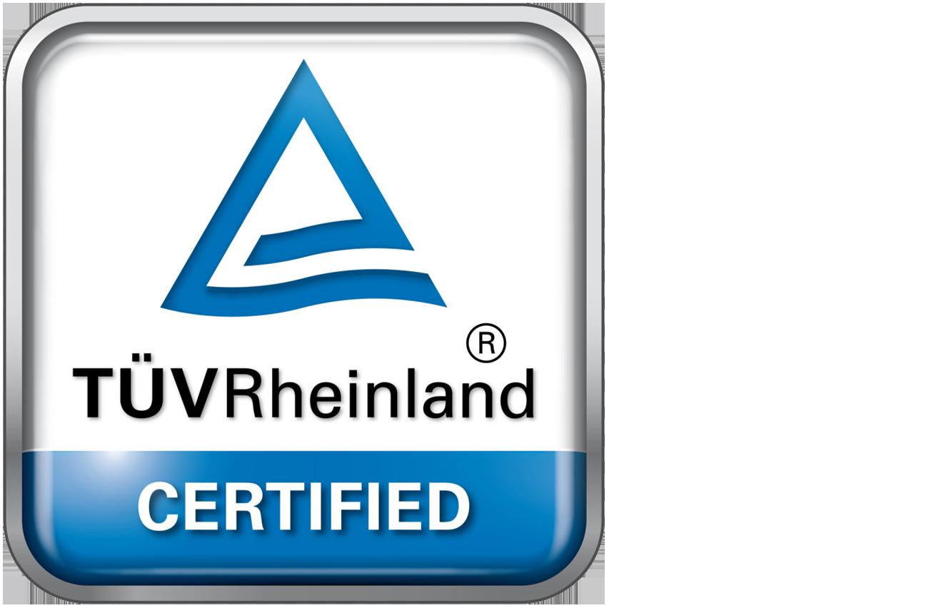 TÜV certified web