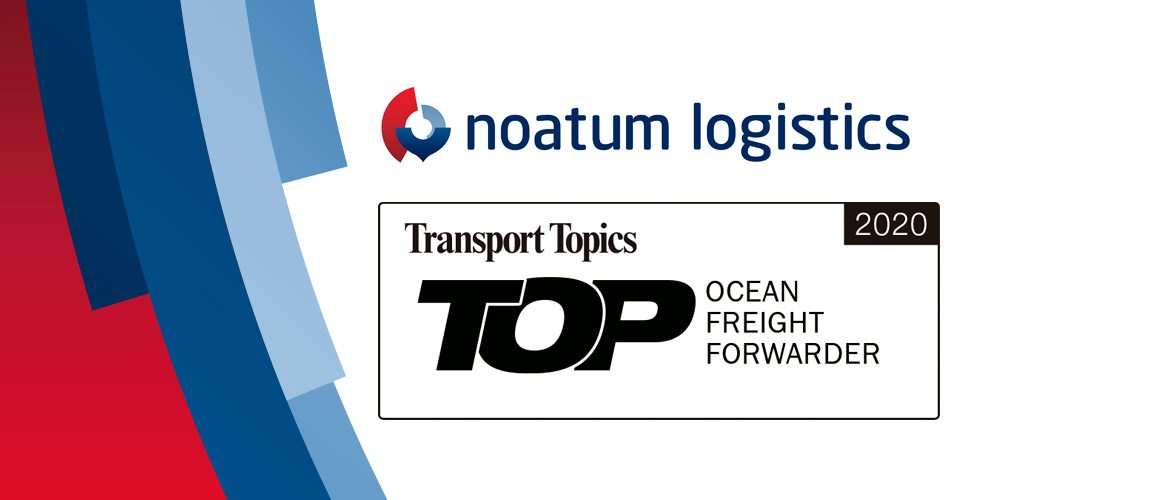 Top50 Ocean Freight Forwarder - Noatum Logistics